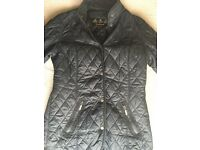 Barbour womens quilted jacket size 10