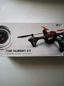 The hubsan x4 drone with camera
