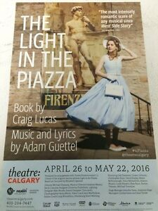 The Light in the Piazza At Theater Calgary Tickets