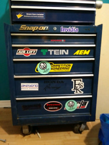 Tool box on wheels