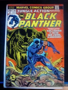 Jungle Action Featuring the Black Panther  #10