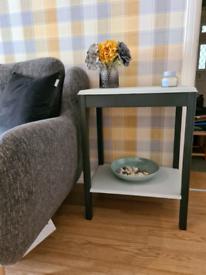 Hall/living room table.