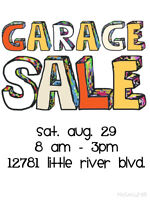 Huge 3 Family Garage Sale - 12781 Little River Blvd Tecumseh