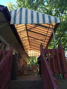 Slip-Fit Patio Awning