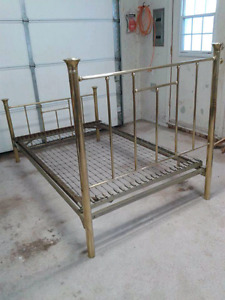 Brass bed for sale $150 obo