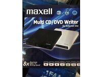 Maxell CD/DVD writer