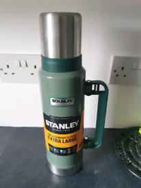 Rare, Stanley Classic Extra Large 1.3L Vacuum Flask. New, Unused.