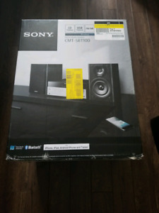 Sony CMT-SBT-100 Bluetooth radio g  room.