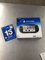 PS Vita BRAND NEW + carte 16GB