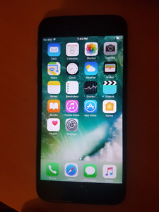 Iphone 6 16gb space grey rogers/ fido