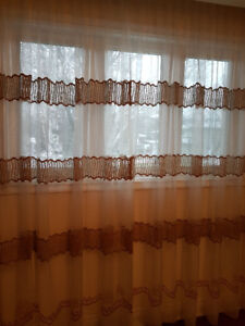 Window sheers and drapes