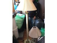 Floor and table lamp for sale 2 x £30