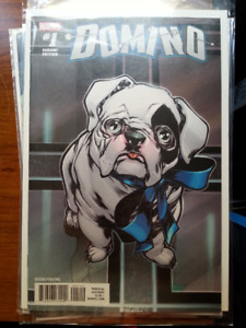 Domino #1 2nd Print Variant Cover comic Mint! Never opened