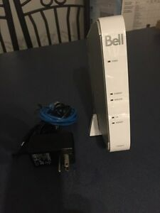 BELL DSL 2 WIRE 2701 MODEM WIRELESS Cambridge Kitchener Area image 1
