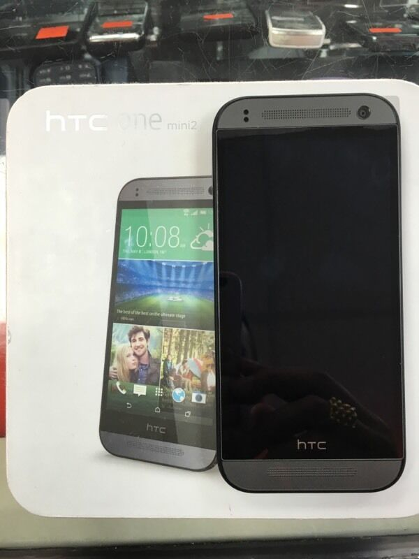 HTC one Mini 2 grey unlocked sim freein Bradford, West YorkshireGumtree - Used mint condition HTC one Mini 2 grey unlocked sim free with box and charger pick up from shop with a receipt 23 James st Bradford BD13PZ