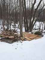 FREE - pallets and scrap wood
