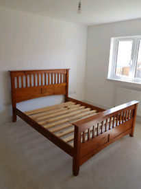 TAKEN PENDING COLLECTION King Size Solid Wood bed frame