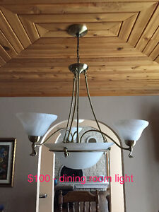 Like-new interior lighting fixtures - 4 lights available