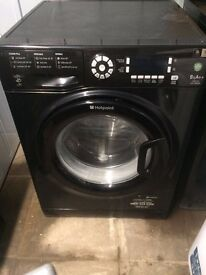 Hotpoint WMUD942 9kg 1400 Spin Black LCD A++ Rated Washing Machine 1 YEAR GUARANTEE FREE DEL N FIT