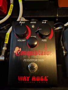 Pédale Way Huge - Conquistador (fuzz-disto)