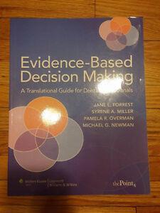 Evidence-Based Desicion Making by Forrest and Miller