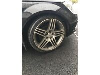 19 Inch Tyres and Alloys Rims AMG Replica