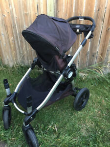 city select double stroller and adapter