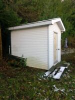 2 8x10 garden sheds available