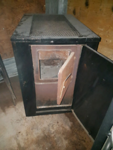 Valley comfort wood fired heater.