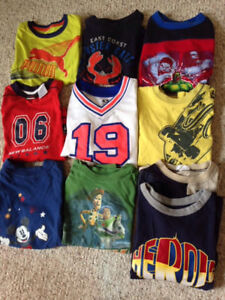 Boys clothing lot tops size 4-6