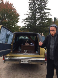 1978 Cadillac Hearse For Sale Great for Halloween