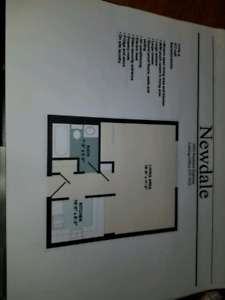 Studio Apartment with 6 MONTHS FREE PARKING- CLOSE TO THE U OF M