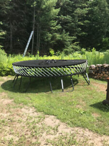Trampoline for sale. One child used it.