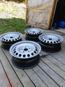 "15"" 5x112 Volkswagen steel wheels"