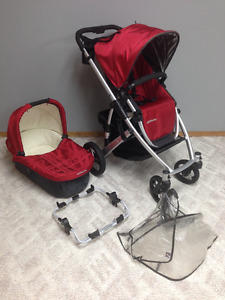 UppaBaby Vista Stroller with Bassinet and Graco Adaptor (SW Wpg)