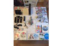 Nintendo Wii bundle pack. Wii fit board and wheel (not pictured)