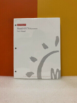 Keithley 6517a-900-01c Model 6517 Electrometer Users Manual