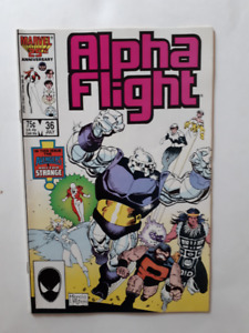 Alpha Flight, Comic book, en anglais, Marvel Comic, 1984