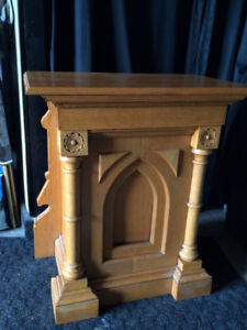 Church  Pulpit  (table)