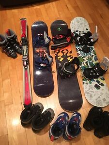 SNOWBOARDS  from $25.00 PLANCHES À NEIGE