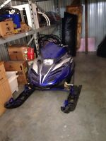 1998 Yamaha srx 700 snowmobile