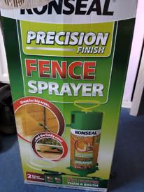 Ronseal precision fence sprayer
