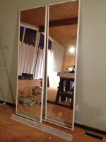 Sliding Mirrored Doors