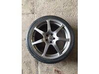 Subaru Impreza alloy wheel 1