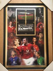 Manchester United Clock