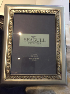 5 x 7 Seagull Pewter Picture Frame - brand new