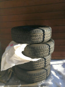 195/65 R 15 91H, set of 4, seasonal tires, good condition