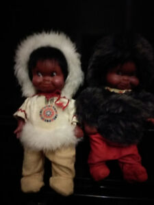 Original Inuit dolls
