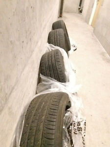 Used Toyo Proxes A20 Radial Tire - 225/45R18 91W - $220