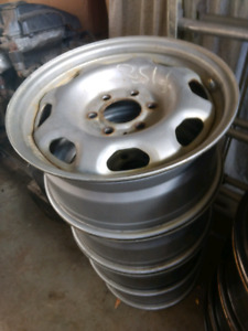 Ford F150 4x 17 inch steel mags rims 6x135